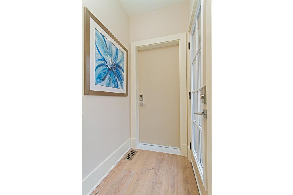 Hallway to Tudor House suite 2 furnished rental in downtown Burlington